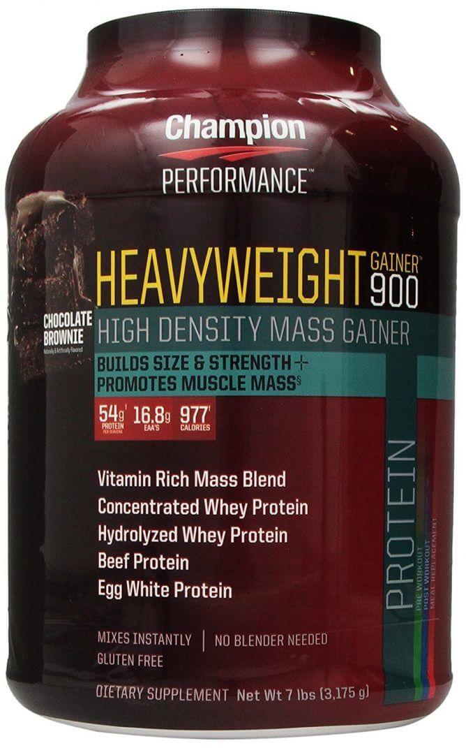 体重増量用プロテイン
