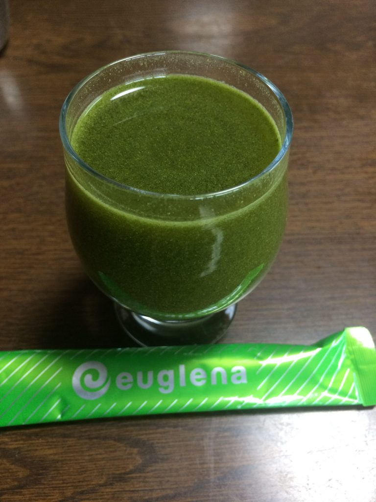 ユーグレナの緑汁を飲んでみての感想