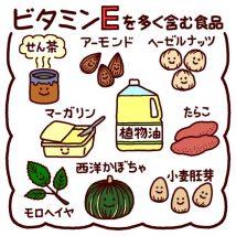 ビタミンEの多い食材
