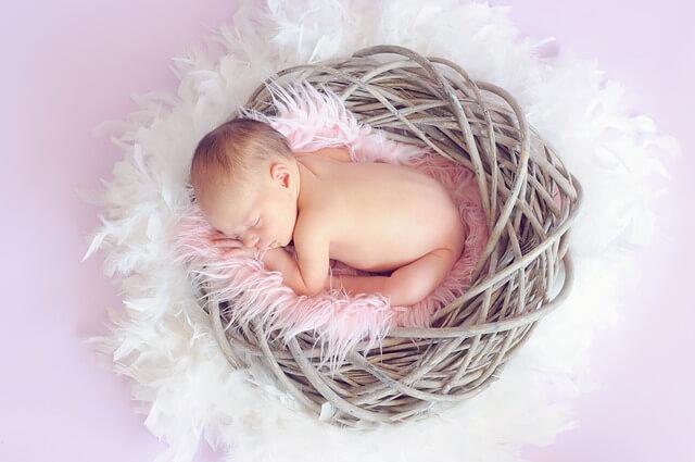 新生児と腸内細菌の関係性