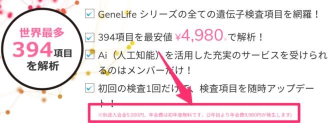 GeneLifeの会員制サービス<Premium>|遺伝子検査のジーンライフ