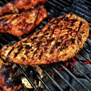 肉 ヘテロサイクリックアミン